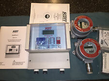 Scott QuadScan II Model 7400 II with Combustible Gas Detection Transmitters NEW