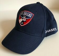 FC Dallas 96 MLS Youth Boys Hat Cap, Navy Blue, Adjustable Snap Back, Chase Bank
