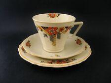 Art Deco Yellow Vintage Original Pottery, Glass