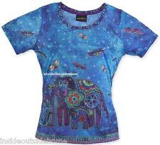 Laurel Burch Dog T Shirt Canine Family Short Sleeve Scoop Nec Polyester XXL 2XL
