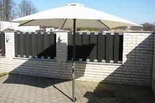 Schneider Las Palmas Sonnenschirm Marktschirm 300cm Schirm UV Gartenschirm natur