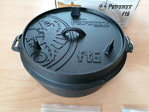 Petromax Ft6 6.5 L Feuertopf - Schwarz - neu