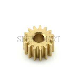 0.5M12T 2mm 3mm Bore Hole 12 Tooth Width 5mm Module 0.5 Motor Metal Spur Gear