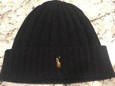 Polo Ralph Lauren The Blend Wool&Nylon Black Hat( OSFA)  $ 48
