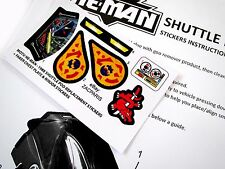 HE-MAN Masters of the universe  replacement stickers for 1988 SHUTTLE POD +BONUS