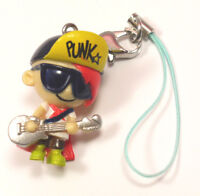 PUNK ROCK CELL PHONE OR ZIPPER CHARM STRAP