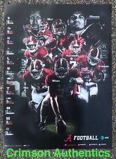 2017 Alabama Crimson Tide Football Schedule Poster Jalen Hurts Bo Scarbrough