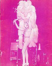 JOSEPHINE BAKER and her International Revue 1973 Carnegie Hall Souvenir Program