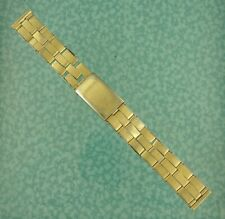 Vtg Cromwell watch band bracelet riveted 16mm USA 4 Rolex lot w161
