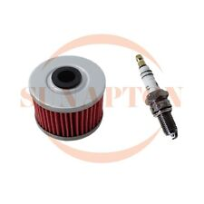 Spark Plug Oil Filter for Honda XR200R XR250R XR500R XR 200 250 400 500 XL