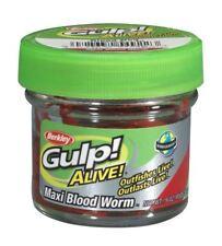Berkley Gulp Alive bloodworms Large/Pêche Appât