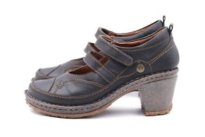 JOSEF SEIBEL Pumps Gr. 38 UK 5 Braun Leder Echtleder Damen Schuhe