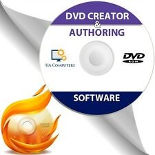 DVD CD Creator & Authoring Burn AVI MPEG to DVD Format Disc