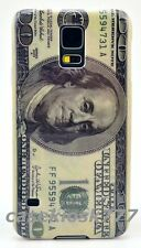 for Samsung galaxy S5 bill cool hard back 100 dollars case cover skin i9600 sv