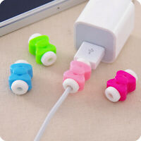 10X USB Charger Cable Protector Saver Case Cover For Apple iPhone Laptop Macbook