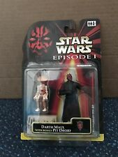 Hasbro Star Wars Phantom Menace Darth Maul with Pit Droid MOC NEW !