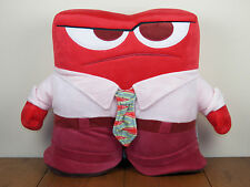 """Inside Out Anger 14"""" Bed Pillow Buddy Plush Stuffed Doll Disney Pixar *New*"""