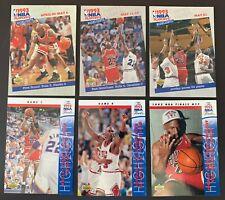 MICHAEL JORDAN - 1993-94 Upper Deck Playoff / NBA Finals - 6 CARD LOT!!