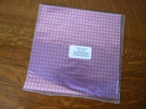 BARGAIN  Large 40-50 Foil Pink SILVER SPOTS Wrappers for chocolates 150 mm sq