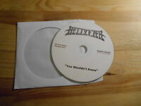 CD Rock Hell Yeah - You Wouldn't Know (1 Song) Promo SONY / BMG disc only