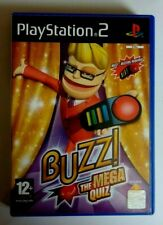 BUZZ THE MEGA QUIZ for PLAYSTATION 2 RARE & HARD TO FIND