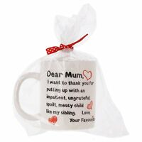 Mother's Day Mug Cute Message Novelty Funny Rude Mum Mummy Nanny Perfect Gift