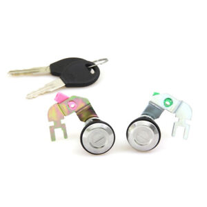 Door Lock Cylinder Set Fit 91-97 Nissan Datsun Hardbody 720 D21 Navara Hardbody