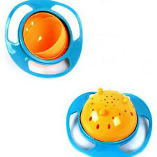 Stylish Universal 360 Rotate Spill-Proof Bowl Dishes Kid Baby Toy Good Quality