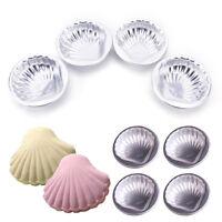 4Pcs bath bomb molds sea shell shape aluminum alloy bathing tool accessories、Fad