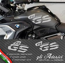 Set Aufkleber Seite Tank Motorrad BMW R 1200 GS LC Exekutive 2017 grey