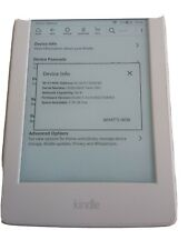 Kindle Paperwhite 7th generation white
