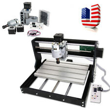 New Cnc Router Mini Laser Engraver Diy Wood Milling Drill Carving Machine Kit A