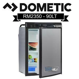 Dometic RM2350 3 Way 90L 12V/240V/Gas Caravan RV Fridge Bonus Black Door Insert