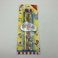 2015 Dr. Seuss Pencils #2 Pack Of 6 New   W9