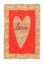 Red Hearts Love & Romance Best Thing Is Hold On To Each Other Greeting Card