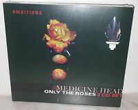 2 CD MEDICINE HEAD - ONLY THE ROSES - NUOVO - NEW