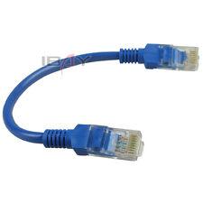 2pcs Network Cat5E RJ45 Patch Cable Ethernet Lan 20cm