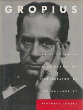Walter GROPIUS Illustrated Biography Bauhaus Modernist Architecture Design VGC