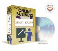 Ebay Kurs - wie Sie mit Ebay Online Geld verdienen -Lektionen - 100 Videos