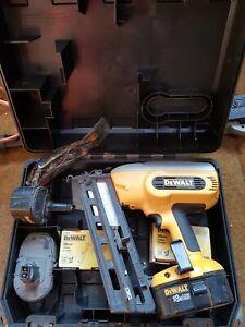 Dewalt nail gun DC618 18 Volt Cordless