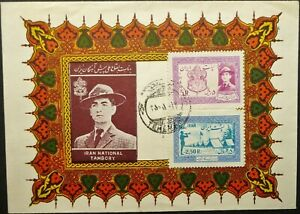 MIDDLE EAST 1956 NATIONAL JAMBOREE ILLUSTRATED FIRST DAY COVER FDC - SEE!