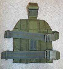BLACKHAWK STRIKE MOLLE OLIVE DRAB LEG DROP PLATFORM GEN 4 - Army , UNUSED