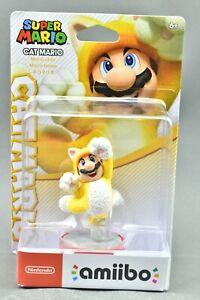 Amiibo Cat Mario Super Mario Nintendo Figure