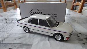 BMW M535i e12 blanche de 1979 1:18 Ottomobile OT139