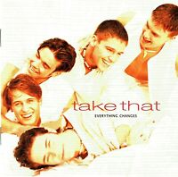 (CD) Take That – Everything Changes - Babe, Pray, Relight My Fire, u.a.