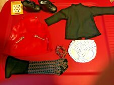 American Girl 1998 Vinyl Jumper Meet Outfit Pleasant Company Retired Complete