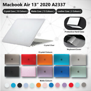 "2020 Apple Macbook Air 13"" A2337 M1 Protective Hard Case + Keyboard Cover Latest"