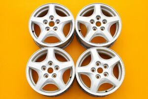 "Pontiac Montana Trans Sport 1998-2005 15"" OEM Silver Set of 4 Wheels Rims #747"