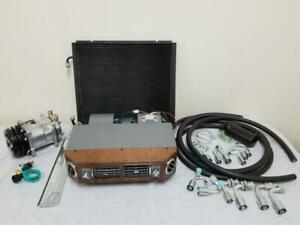 Universal Underdash Air Conditioning Evaporator Kit AC Hoses Compressor Fittings