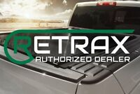 RETRAX PRO MX Matte Aluminum BEDCover 80374 2015-19 FORD F-150 6.6FT BED ONLY